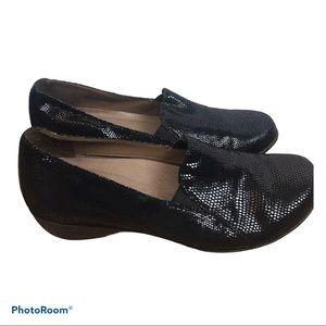 DANSKO Farah size 9 Euro 40 Black Lizard Comfort